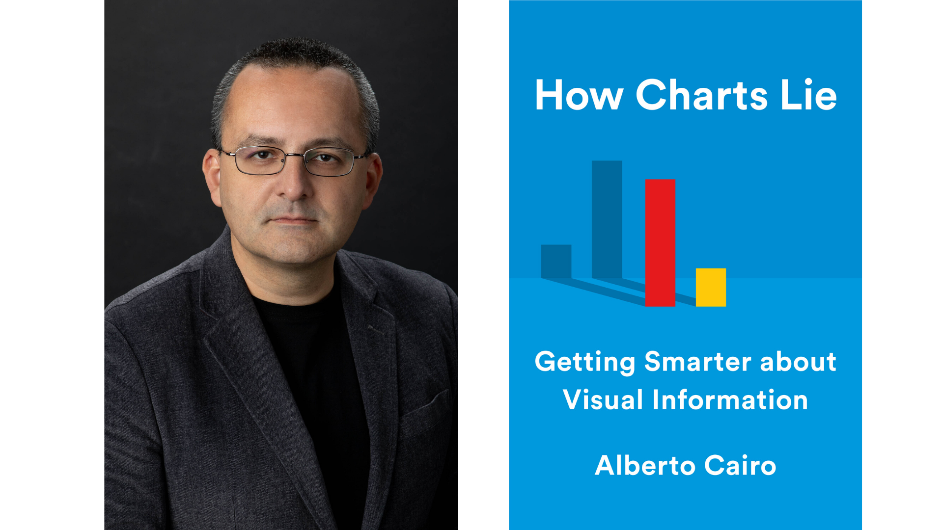 "Alberto Cairo and the book ""How Charts Lie"""
