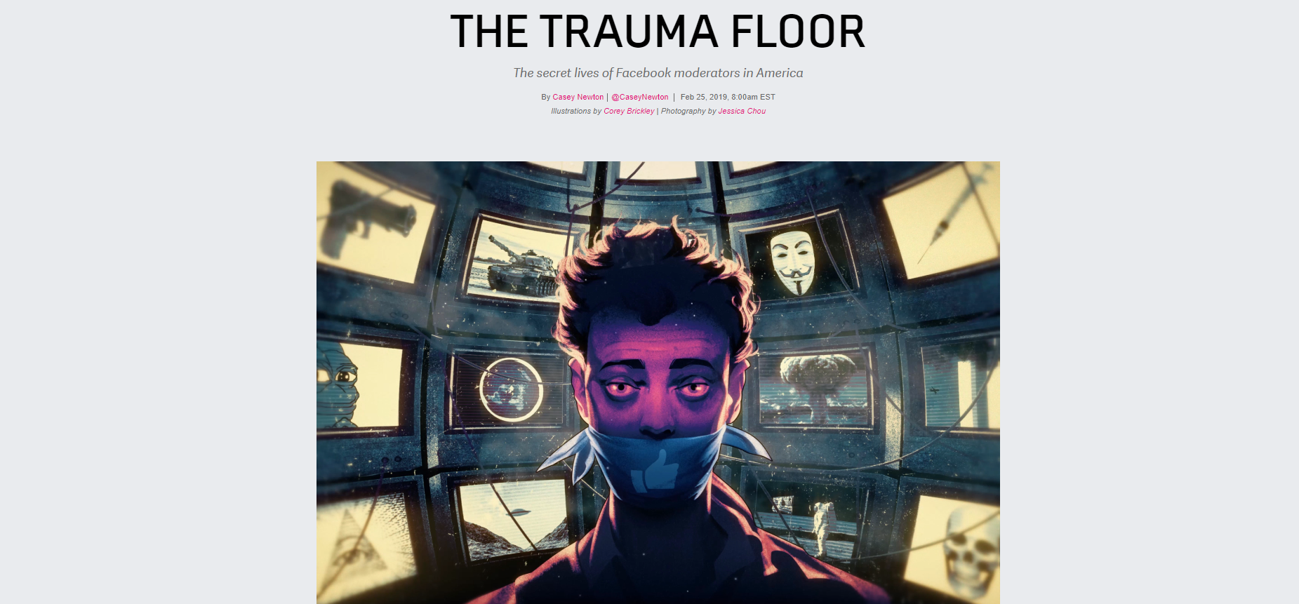 The trauma floor