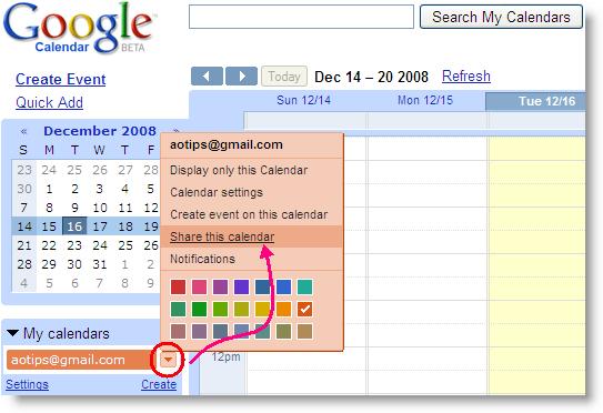 Six Tips On Using Google Calendar To Coordinate A Far Flung News