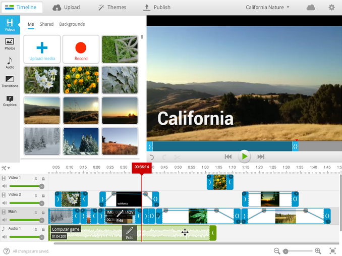 WeVideo editing platform offers collaboration in the cloud