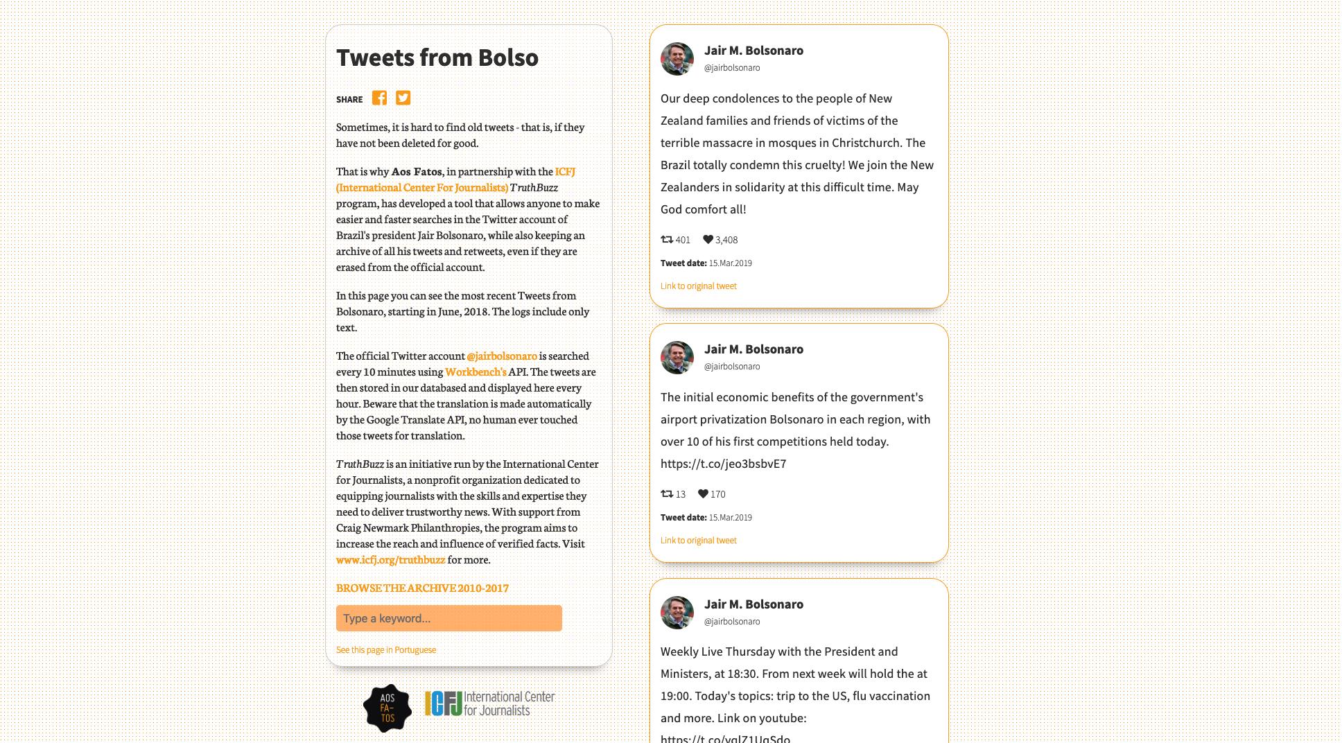Construindo um bot para monitorar contas de políticos no Twitter