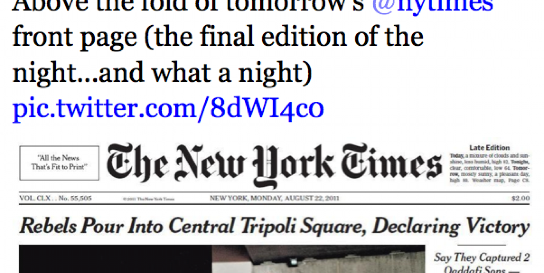 Battle for Tripoli: Social media offer a sneak peek at New York